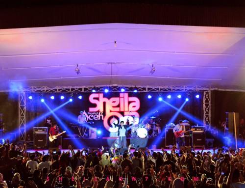 Konser Perdana Sheila On 7 di Aceh